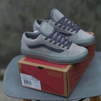 Sepatu Vans Oldskool Style 36 Reigning Champ Grey ORI Premium BNIB