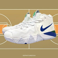 Sepatu Sneakers Basket Nike Kyrie 4.0 Size 45 46 White BG