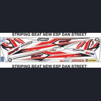 STRIPING UNIVERSAL MOTOR HONDA BEAT NEW ESP STIKER STRIPING VARIASI
