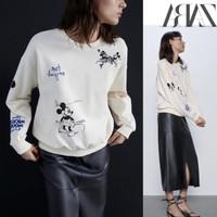 ZARA x Mickey Disney Sweatshirt Collcetion