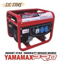 Mesin Genset Yamamax PRO 2200RX 4 Tak Rubicon Less Oil Tanpa Oli 1000W