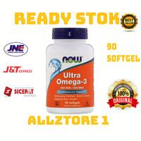 Now foods Ultra Omega 3 500 EPA/250 DHA isi 90 softgel