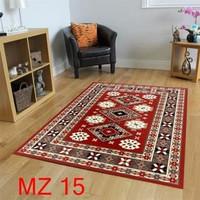 Karpet Permadani Jumbo Lantai 260x360 MZ15 Maroon, Elegant & Etnik
