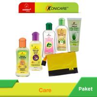 Konicare Minyak Telon Plus Anti Nyamuk Paket Care + Pouch