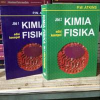 Sepaket Kimia Fisika Edisi 4 Jilid 1 & 2 - P.W. Atkins