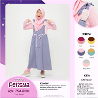 Bani Overall Felisya Baju Muslim Jumpsuit Anak