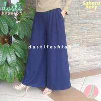 Celana Kulot Wanita Import Jumbo Big Size XL XXL
