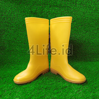 Sepatu Boots Ando / Sepatu Karet / Saafety Boots