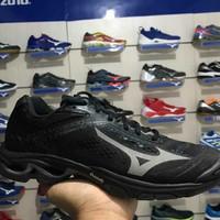 Sepatu olahraga running volly mizuno wave lightning z5 black original