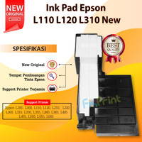 Inkpad Ink Pad Pembuangan Tinta Printer Epson L120 L310 L350 L355 L360