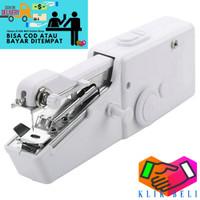 Mesin Jahit Tangan Mini Portable Handy Stitch Alat Genggam Sewing
