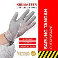 Hunter Sarung Tangan Cut Resistant HT1709 - Sarung Tangan Anti Pisau A