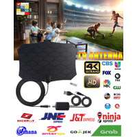 Antena TV Digital DVB-T2 High Gain 25dB with Amplifier Signal Booster