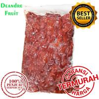 GROSIR MURAH 1kg Raspberry Merah Frozen Buah Beku IQF Raspberry