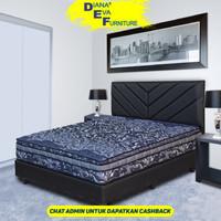 Comforta Spring Bed Super Fit Super Platinum - Full Set