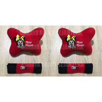 Bantal Mobil 2 in 1 Minie Mouse