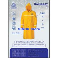 Baju Jas Hujan Safety Kuning ORIGINAL Samudra Raincoat MANTEL TERUSAN - M