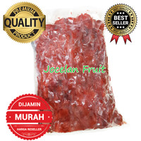DIJAMIN TERMURAH 500gr Buah Raspberry Beku Frozen IQF Rasp Berry Merah