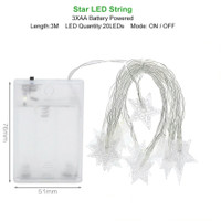 Star String Light Tumblr Lamp Lampu Hias Kamar Lampu Natal Gantung LED