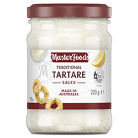 masterfoods traditional tartare sauce 220gr