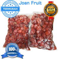 Buah Beku Stroberi Strawberry Frozen 1kg TERMURAH SE INDONESIA DIJAMIN