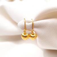 RESTOCK anting anak model hati cristal best seller minimalis emas asli