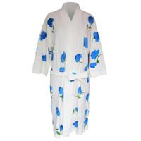 Handuk kimono dewasa bunga mawar handuk baju dewasa handuk berenang