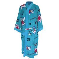 Handuk kimono dewasa handuk baju dewasa handuk berenang doraemon warna