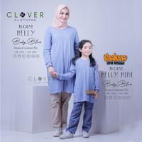 BAJU ATASAN Blouse Kaos Lengan Panjang Couple Ibu dan Anak Melly Tln