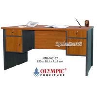 Meja Tulis Meja Kantor Meja Kerja MTB 040107 Olympic