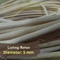 Listing Rotan 5 mm Per Meter