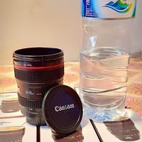 Gelas Mug STAINLESS Lensa Kamera Canon EF 24-105mm CAFE RESTO GIFT ART