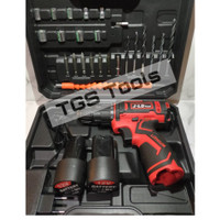 Cordless Drill Battery 12V - Bor Obeng Baterai - Include tool kit -JLD