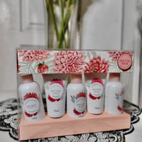 hand body set import australia bath saltbody wash/body lotion