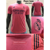 NEW JERSEY REAL MADRID AWAY PLAYER ISSUE 20/21 GRADE ORI THAILAND - S