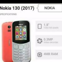 Handphone Nokia 130 hp jadul dual sim