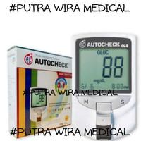 ALAT AUTO CHECK - GARANSI SEUMUR HIDUP- PUTRA WIRA MEDICAL P.W.M