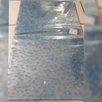 Plastik goodie bag snack souvenir ultah biru 60cmx36cm