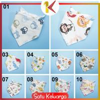 SK-P34 Celemek Makan Bayi Lucu Slaber Segitiga Baby Bibs Slabber Bayi - P34 Part B, 08