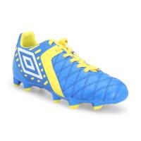 Umbro Medusa II Club HG - JNR Sepatu Sepakbola Pria - Electric Blue