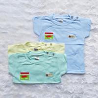 baju bayi / kaos oblong bayi uscita lengan pendek ( 3 PCS ) seri warna