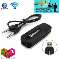 Bluetooth Receiver 3.5mm Portable USB AUX Wireless Music Audio Adapter