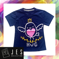 Baju atasan anak perempuan bird hug 1-10 Tahun - 1 Tahun