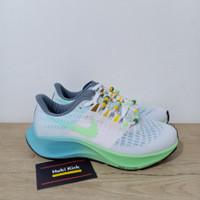 Sepatu Nike Zoom Pegasus 37 White Blue Tosca Women