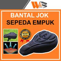 Sarung Jok Sepeda Cover Batalan Busa Empuk Asesoris Sepeda Gunung
