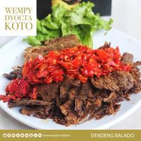 Wempy Dyocta Koto Premium Dendeng Balado - Kering 500gr