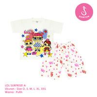 Baju Setelan Anak Perempuan LOL Model A Shirton