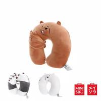 Miniso U Shaped Neck Pillow,Bantal Leher+Penutup Mata