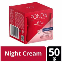 ponds age miracle night cream 50 gr