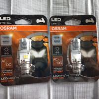 LAMPU DEPAN LED MOTOR VARIO 110/125 BEAT,SATRIA,MIO BeBeK OSRAM Asli